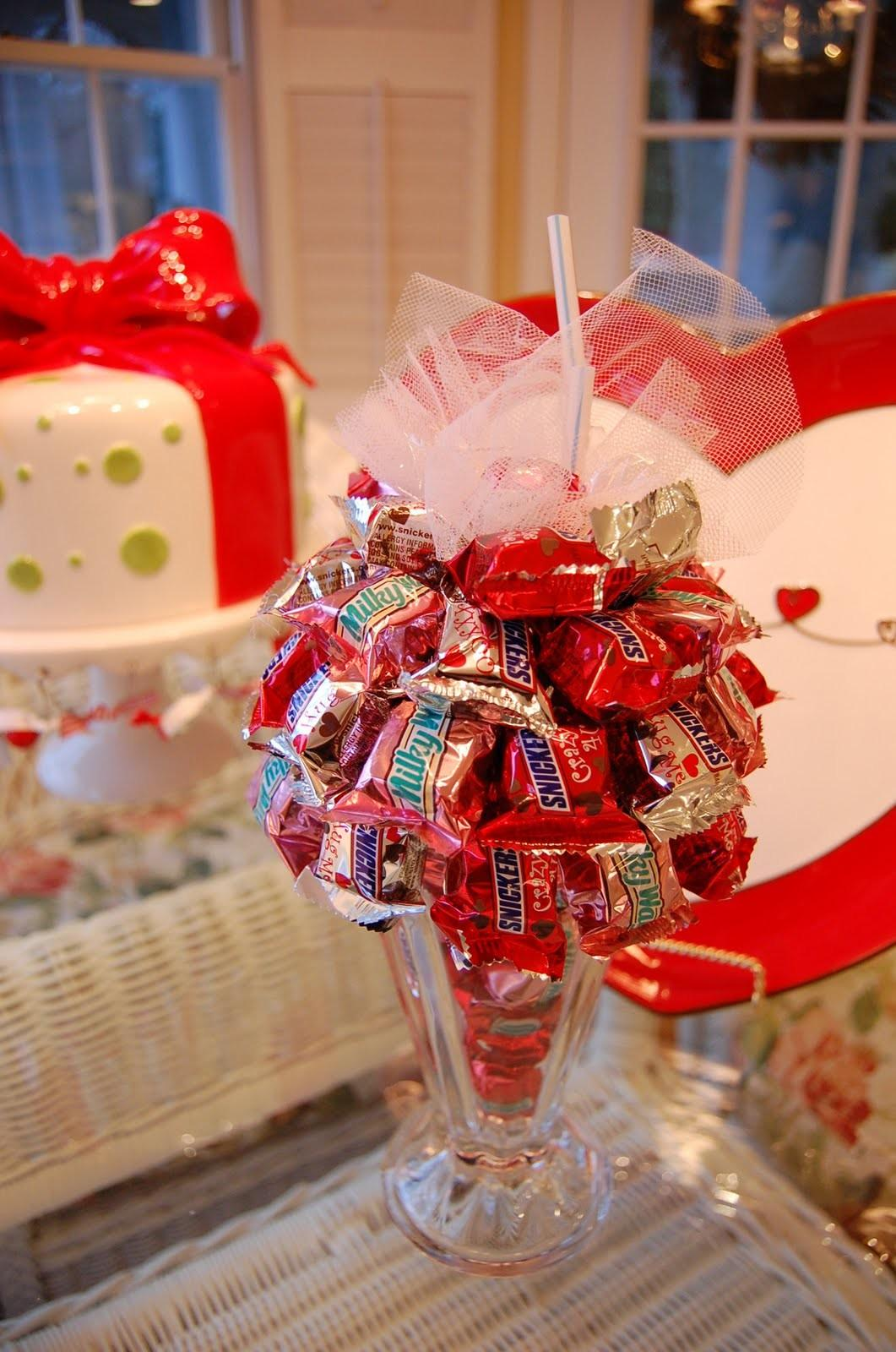 Decorations Snickers Candy Glass Diy Valentine
