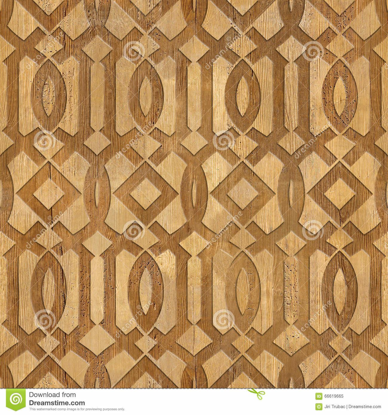 Decorative Arabic Pattern Interior Design