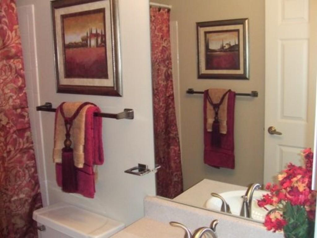 Decorative Bathroom Towels Home Design Ideas