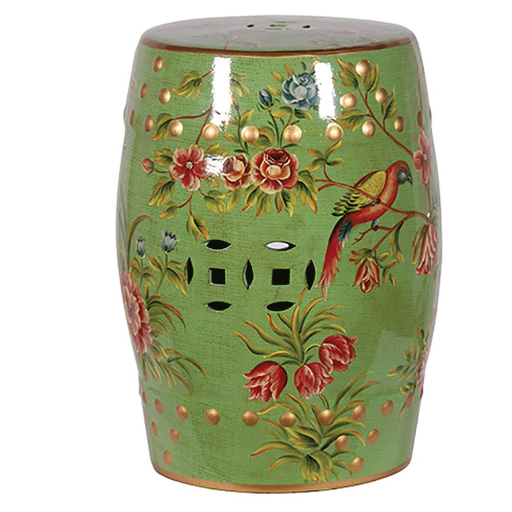 Decorative Ceramic Stool Chinese Candle