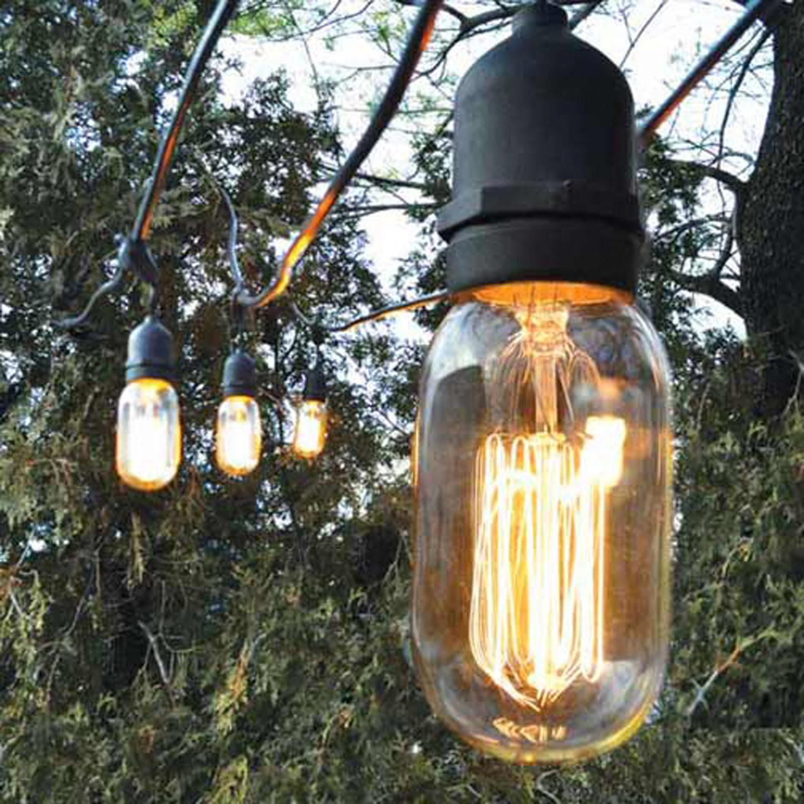 Decorative Outdoor String Lights Shades Light
