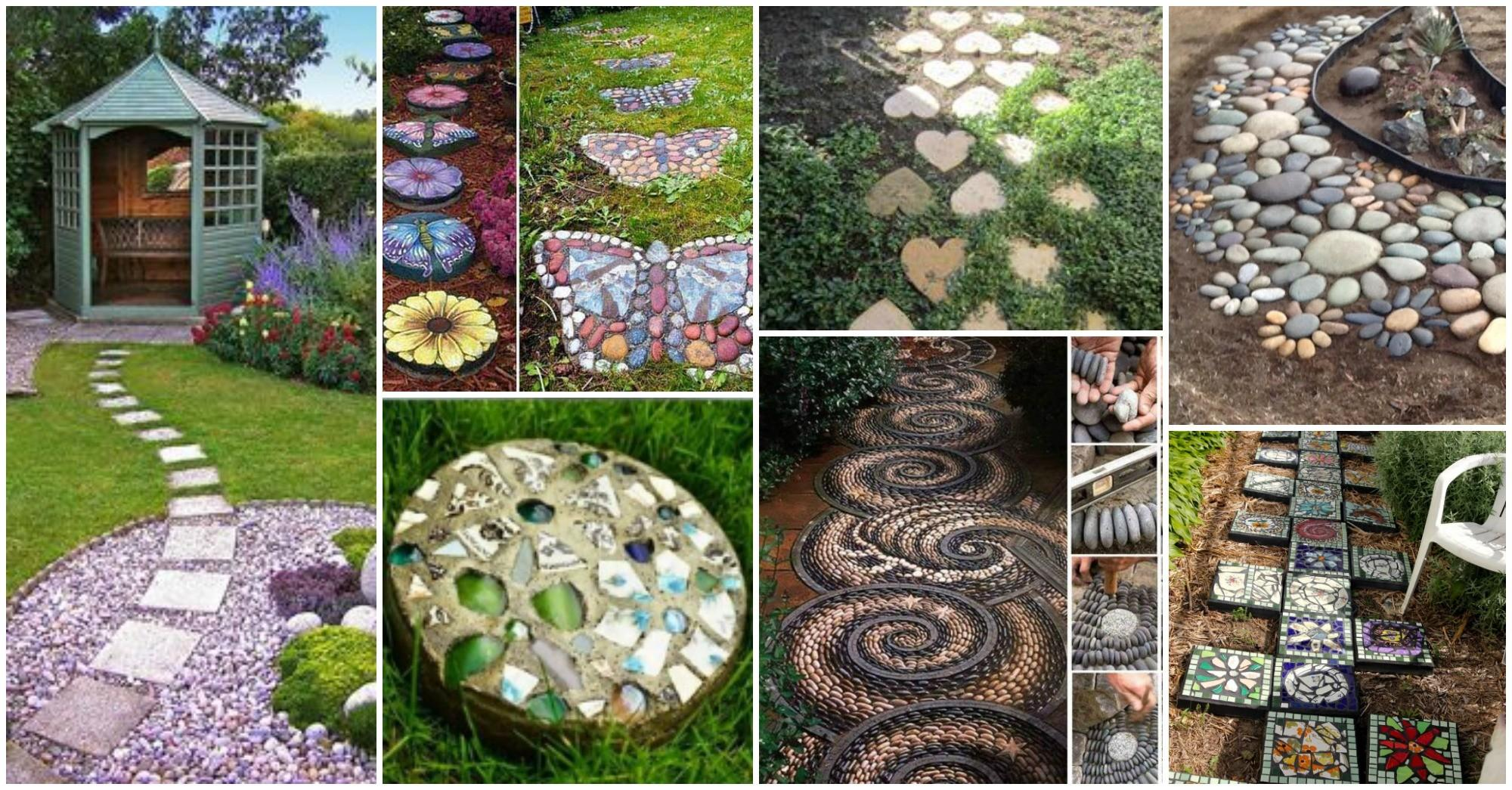 Decorative Stepping Stones Blow Your Mind