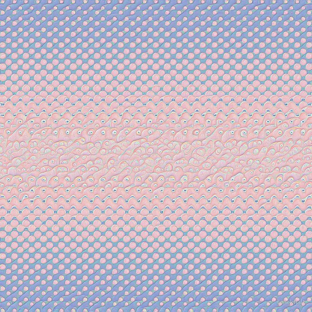Deepdream Color Circles Gradient Rose Quartz