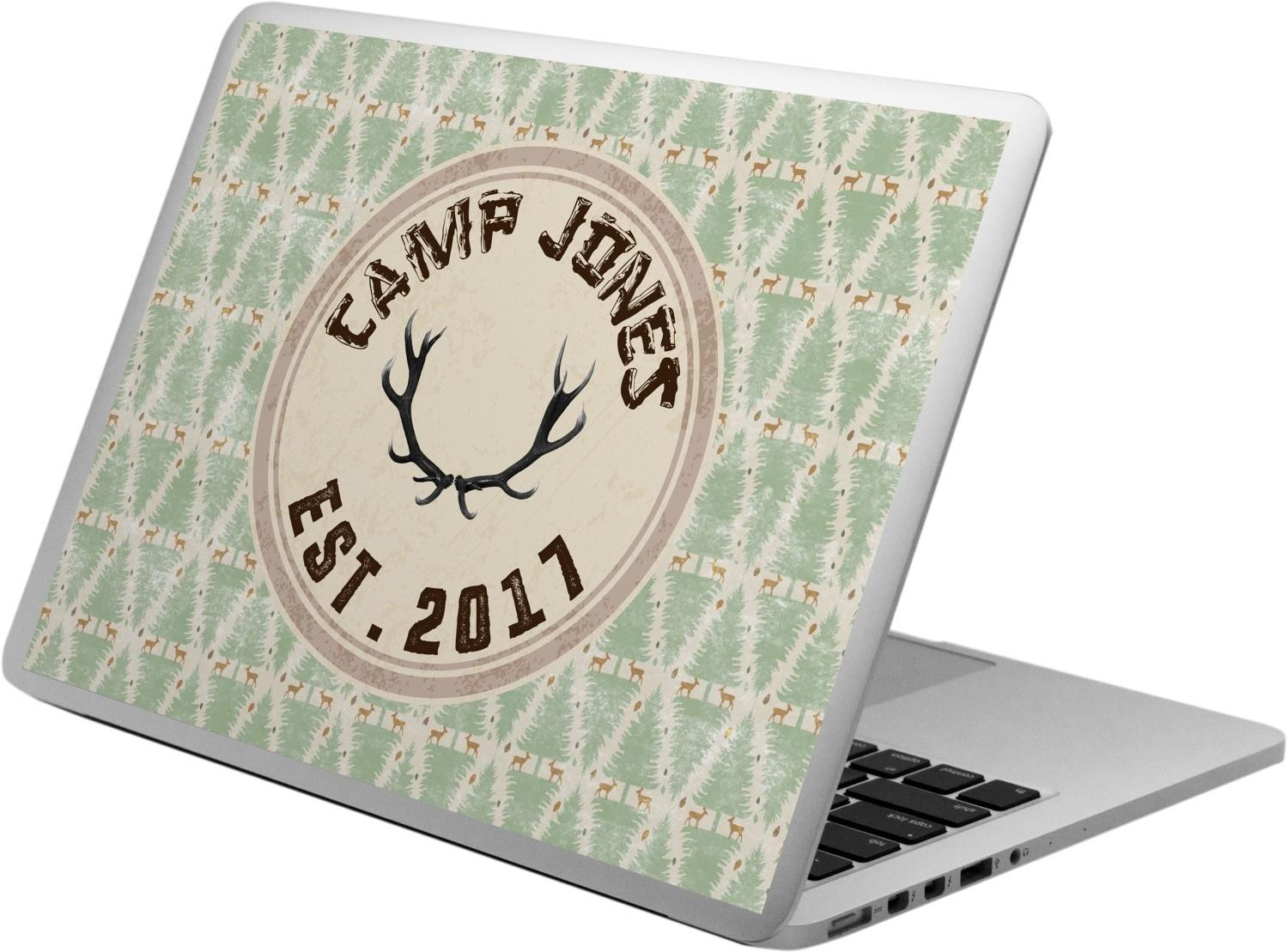 Deer Laptop Decal Personalized Youcustomizeit