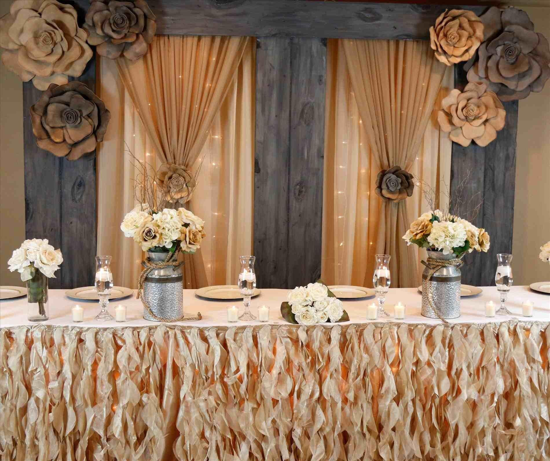 Deer Outdoor Wedding Head Table Ideas Skull Decor Rustic