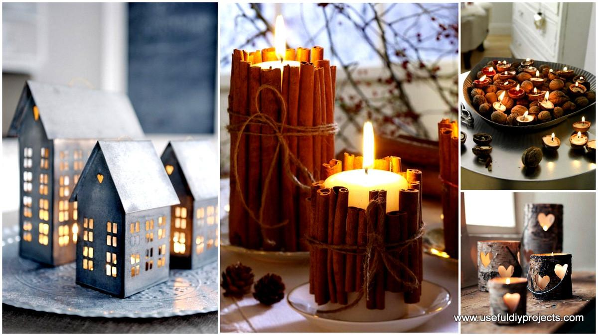 Delicate Beautiful Ideas Candle Holders Projects