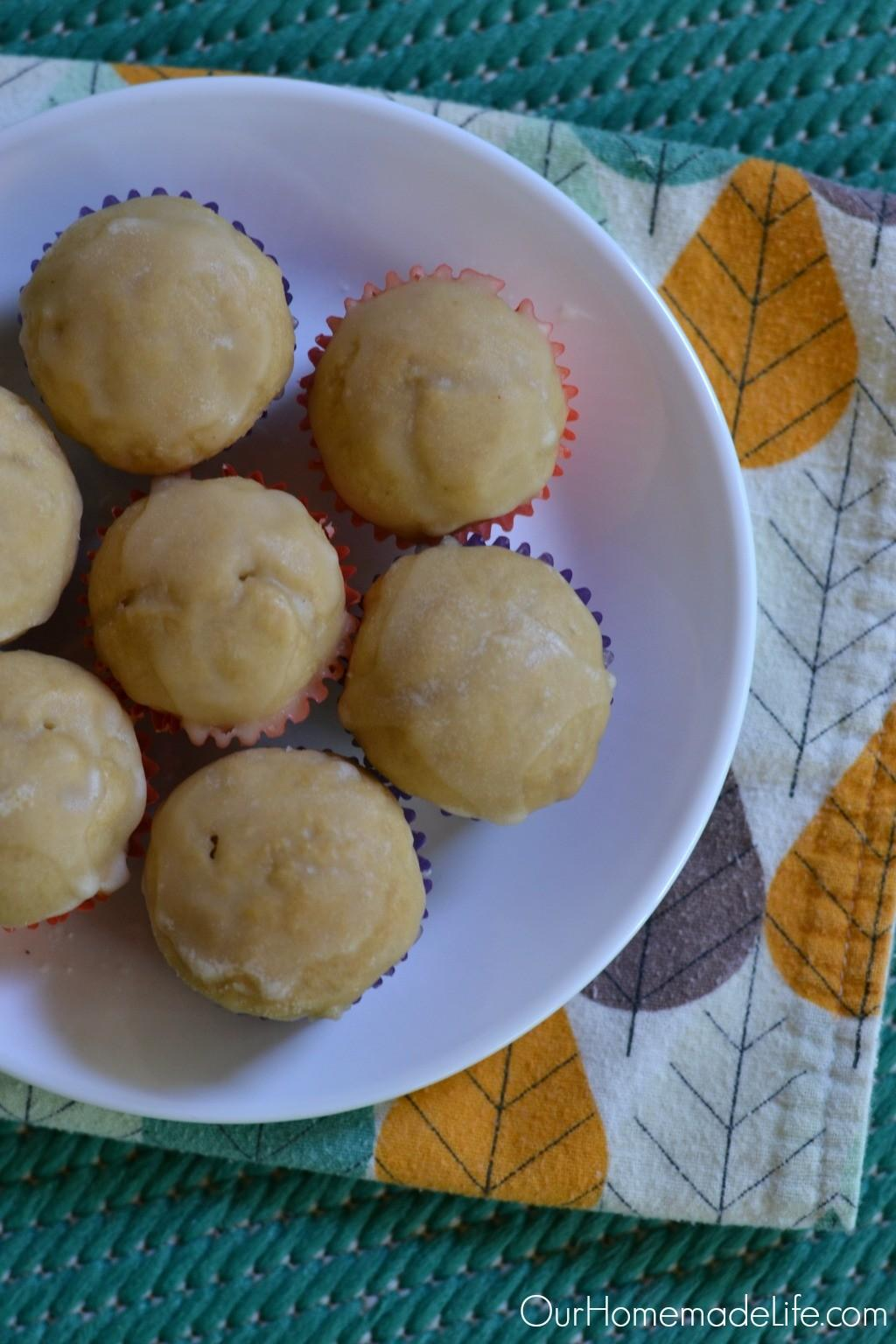 Delicious Glazed Cake Donut Muffin Recipe Our Homemade Life