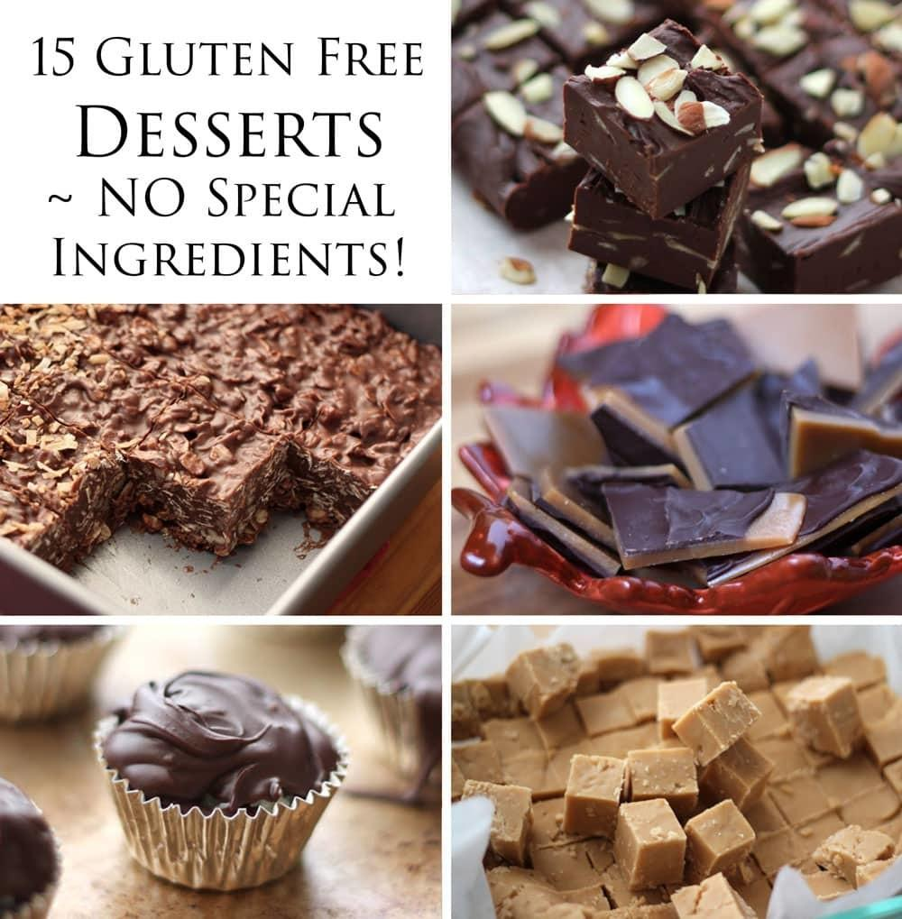 Delicious Gluten Desserts Special Ingredients