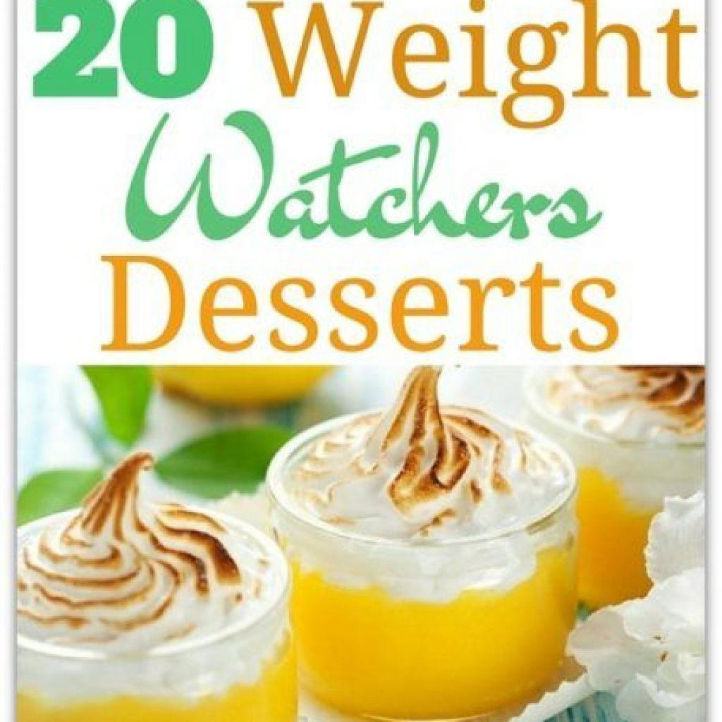 Delicious Weight Watchers Desserts Ladyomatic