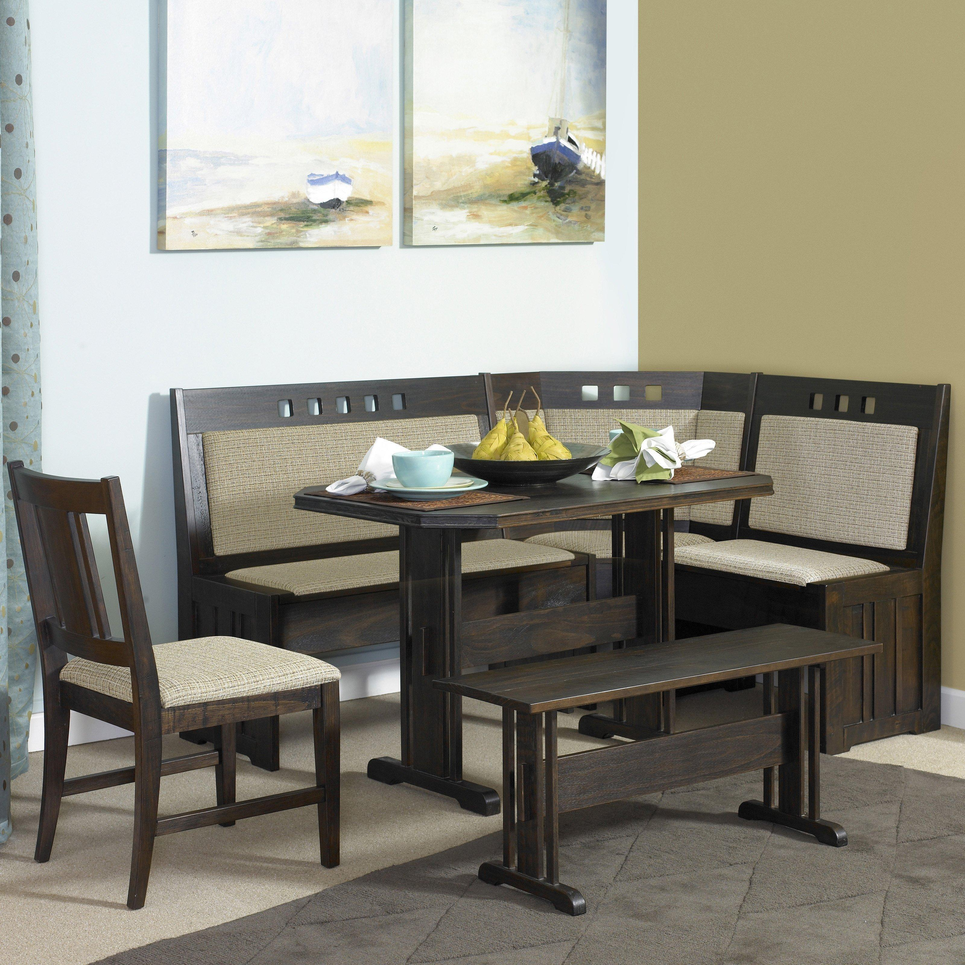 Delightful Dining Table Banquette Seating Kitchen