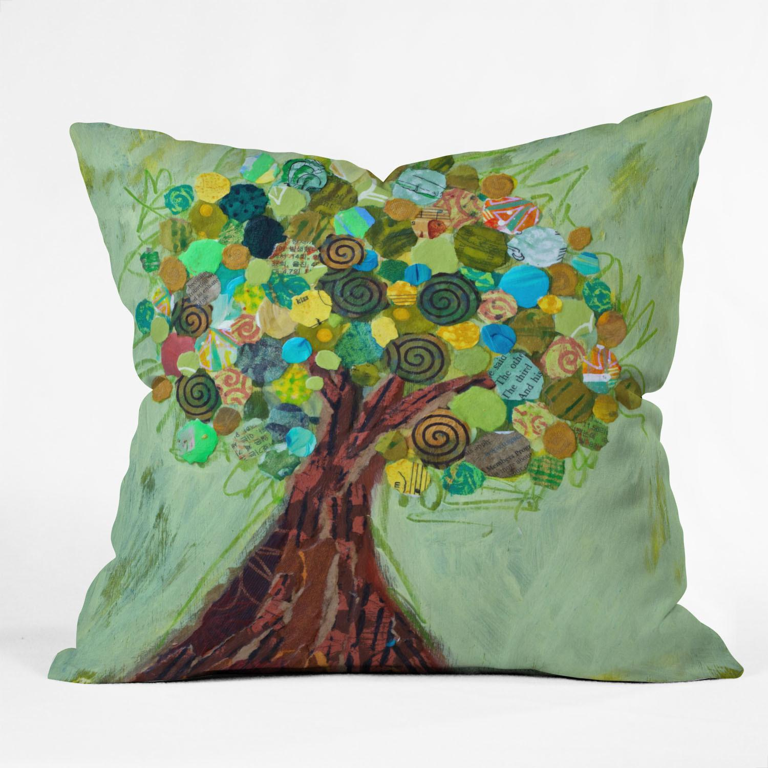 Deny Designs Elizabeth Hilaire Nelson Spring Tree Throw