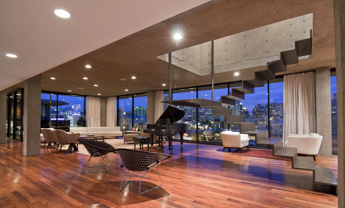 Design Construction Nyc Luxury Penthouses Natural