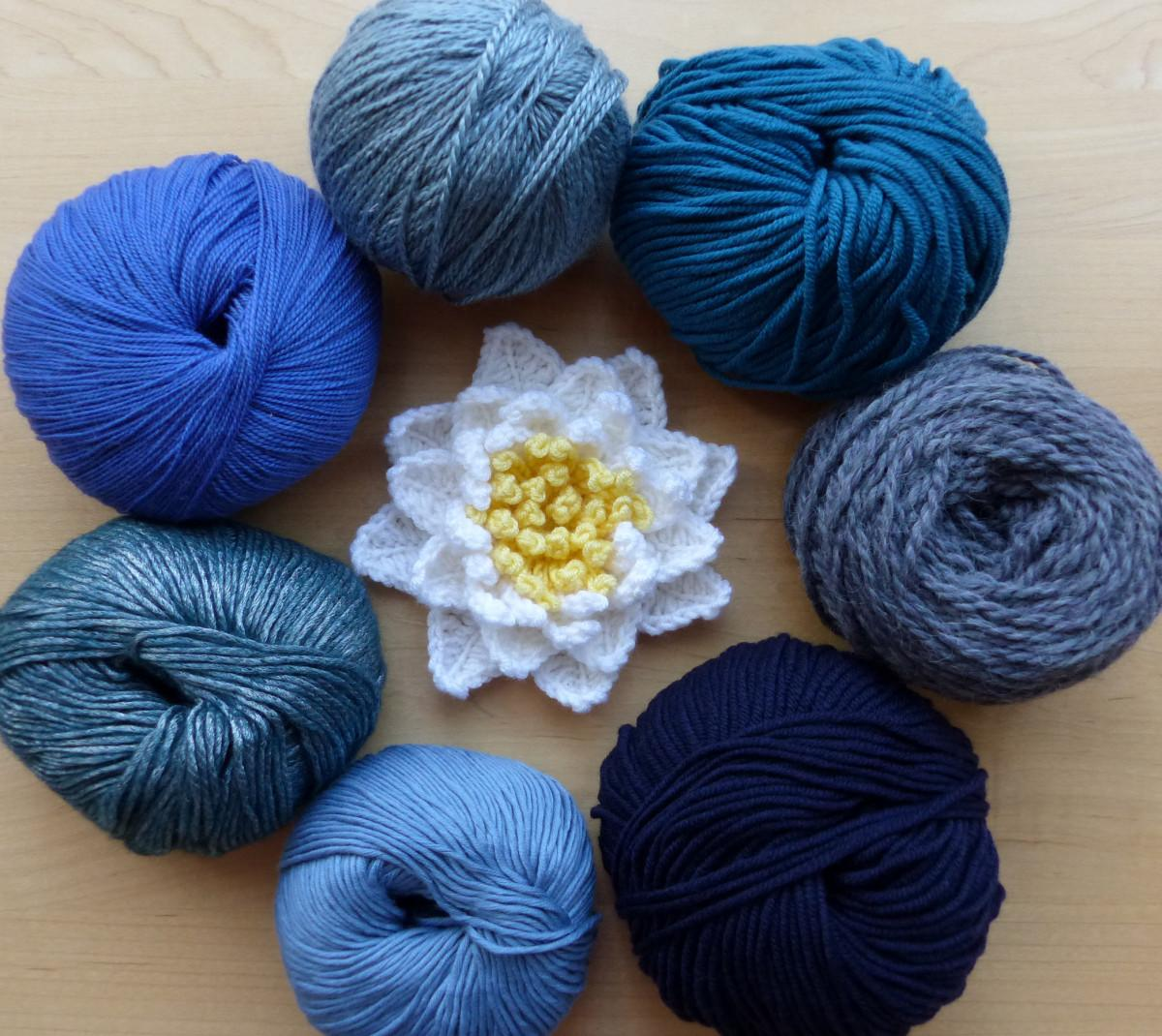Design Crochet Patterns Part Selecting Yarn