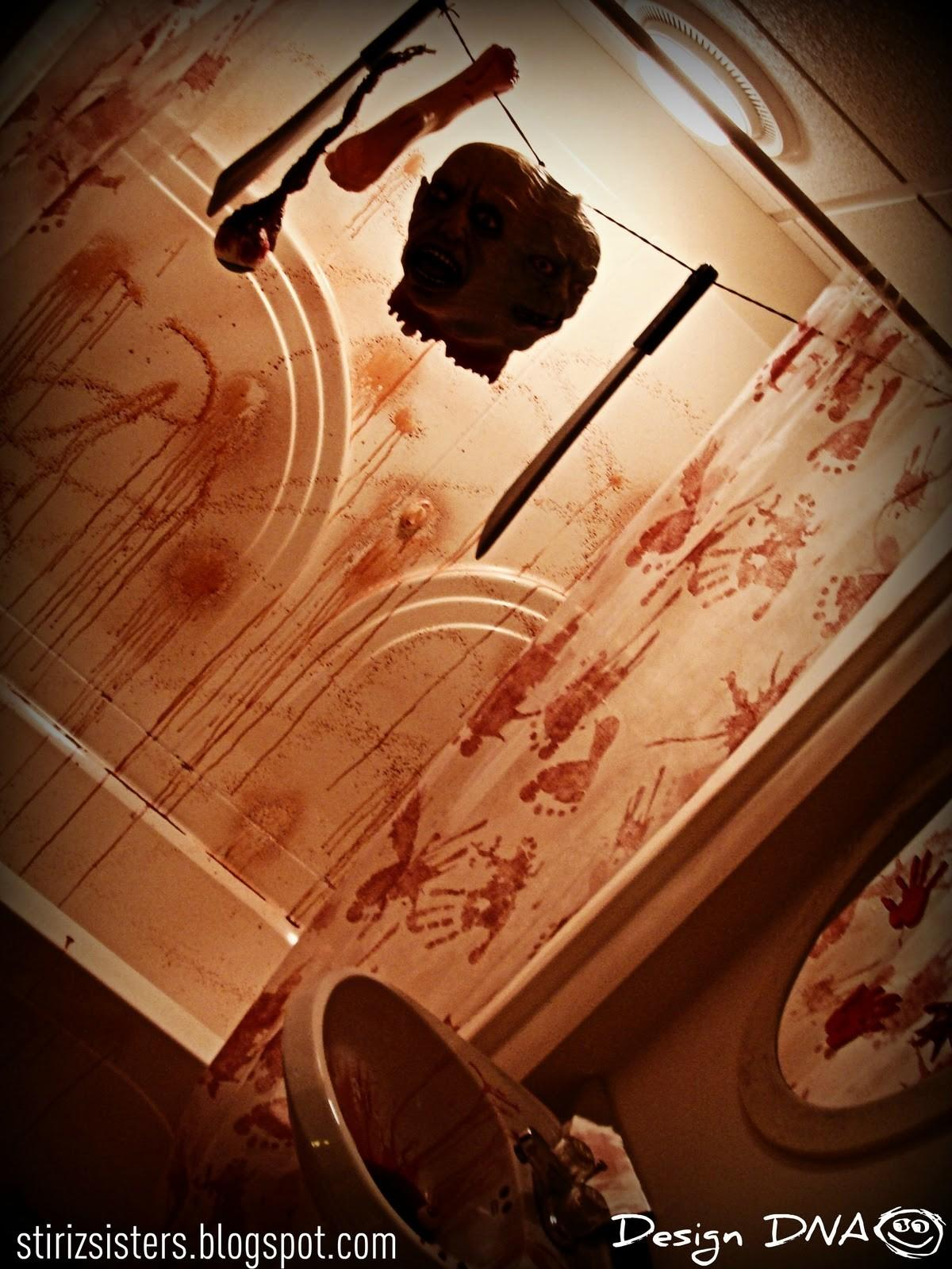 Design Dna Haunted House Rooms Bloody Bathroom