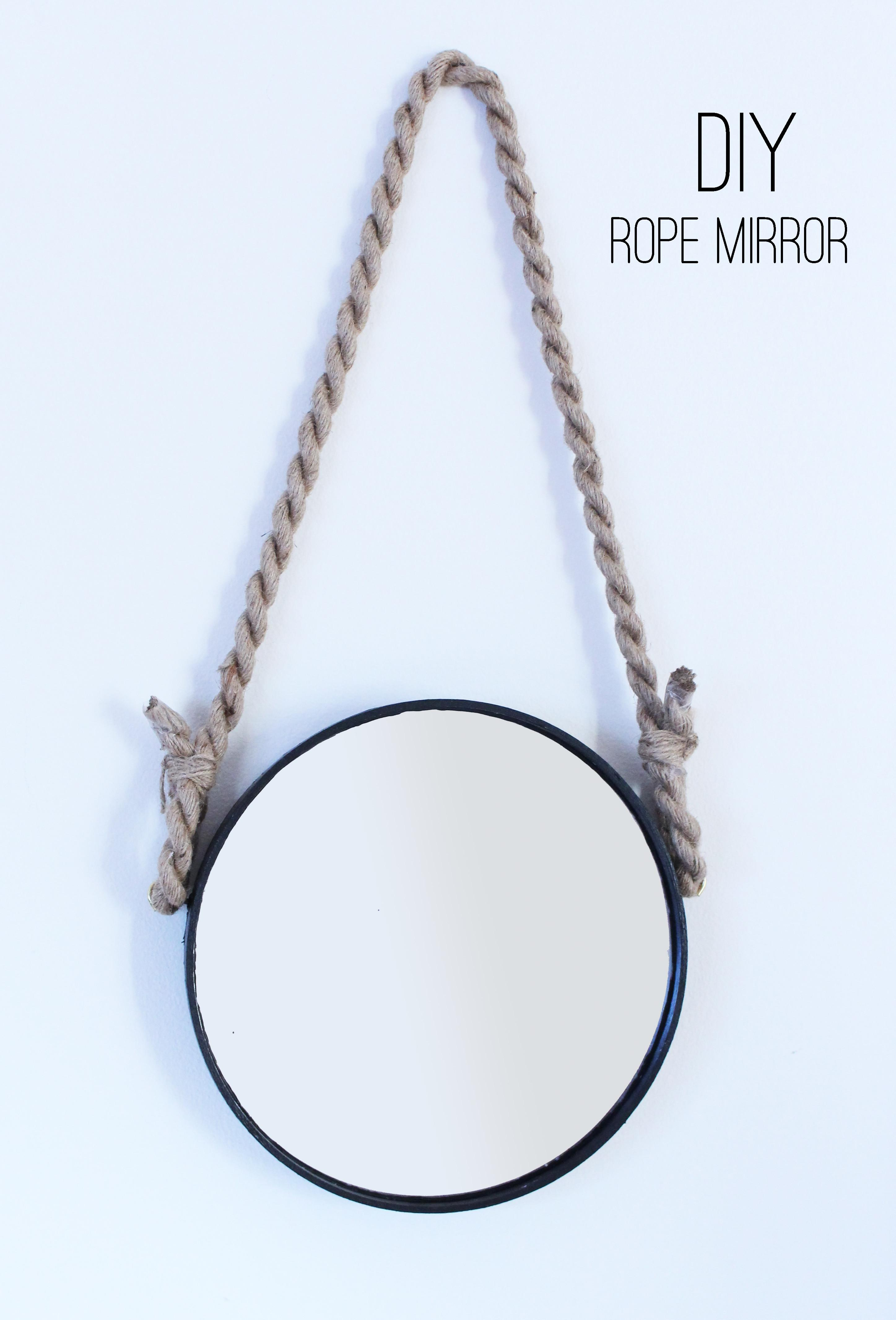 Design Evolving Diy Rope Mirror