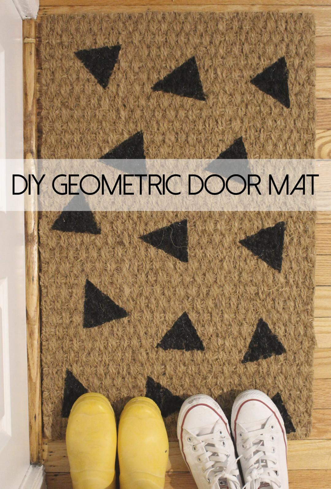 Design Evolving Weekend Project Diy Geometric Painted