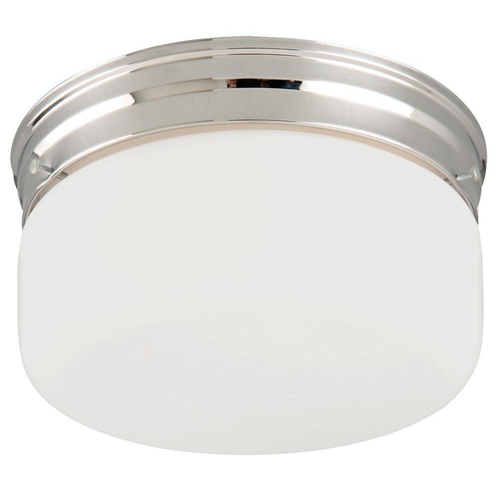 Design House Light Chrome Ceiling Mount Fixture