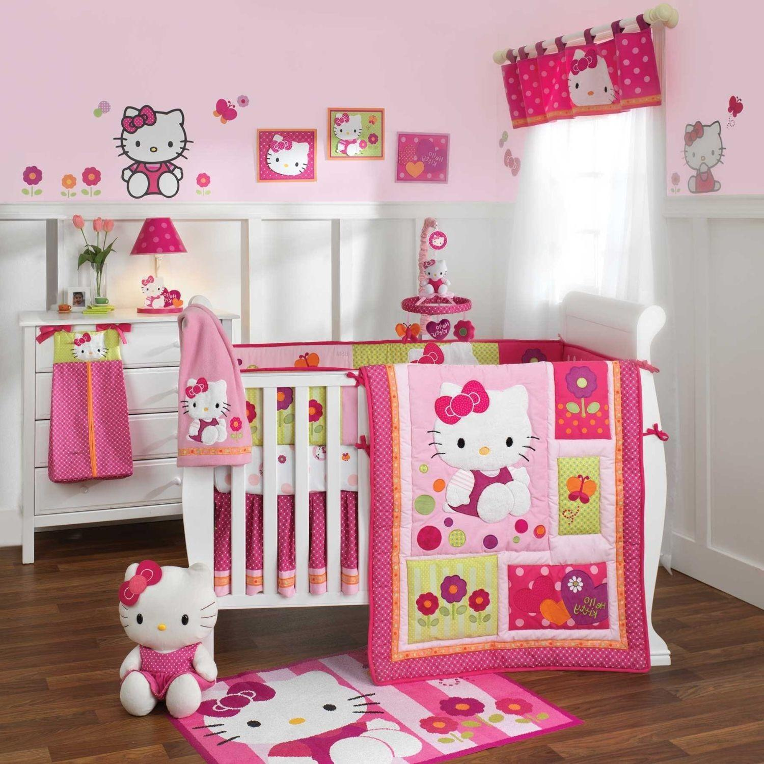Design Ideas Baby Girl Room Pink Walls White