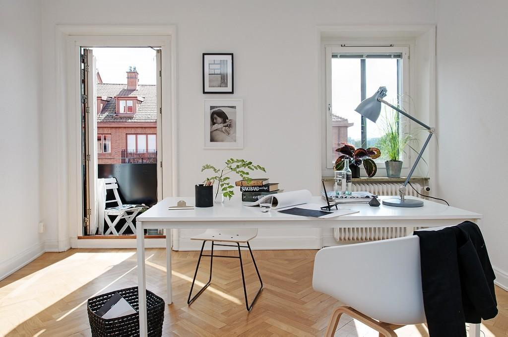 Design Ideas Home Office Scandinavian Style