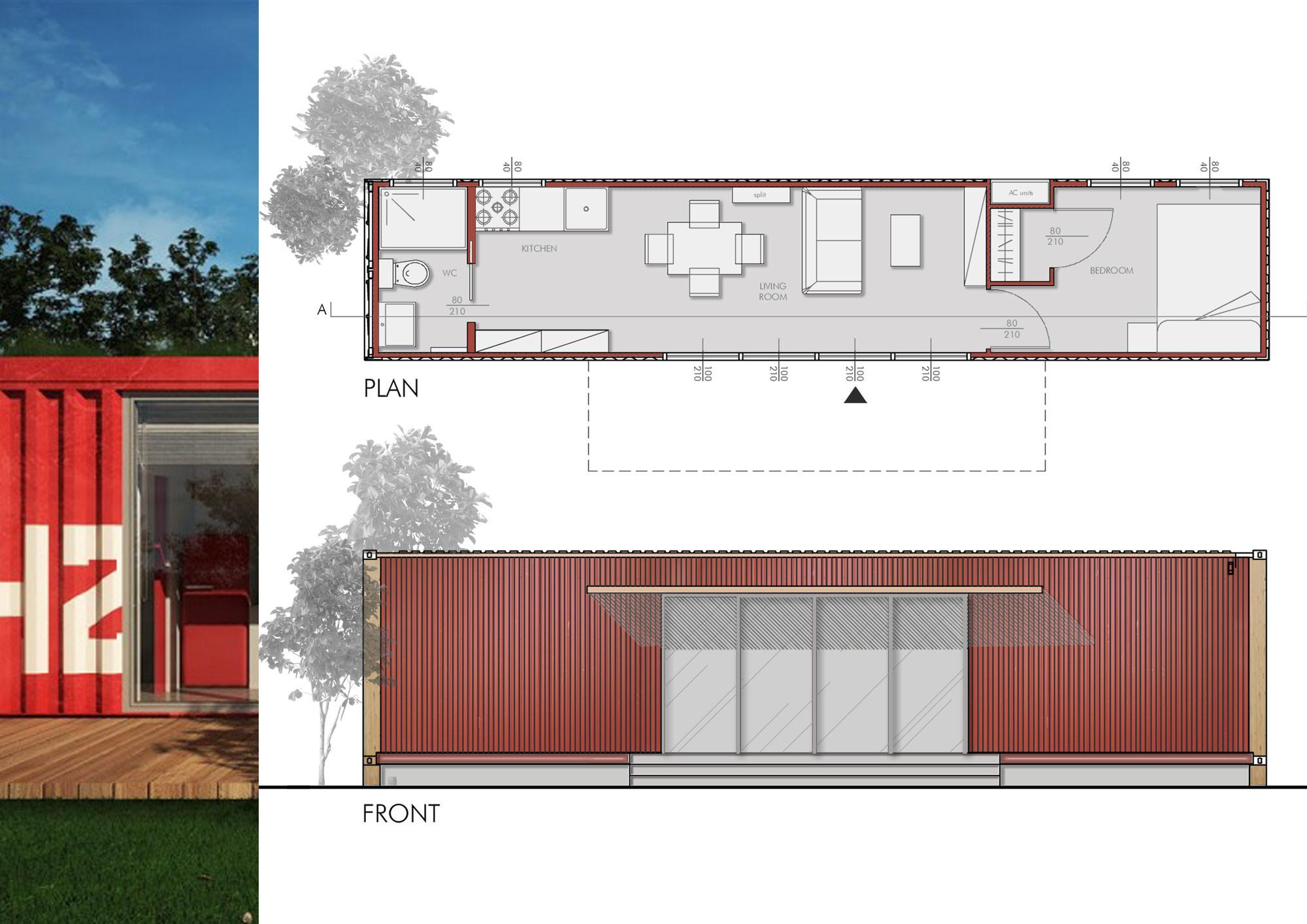 Design Modern House Container Architects Srl