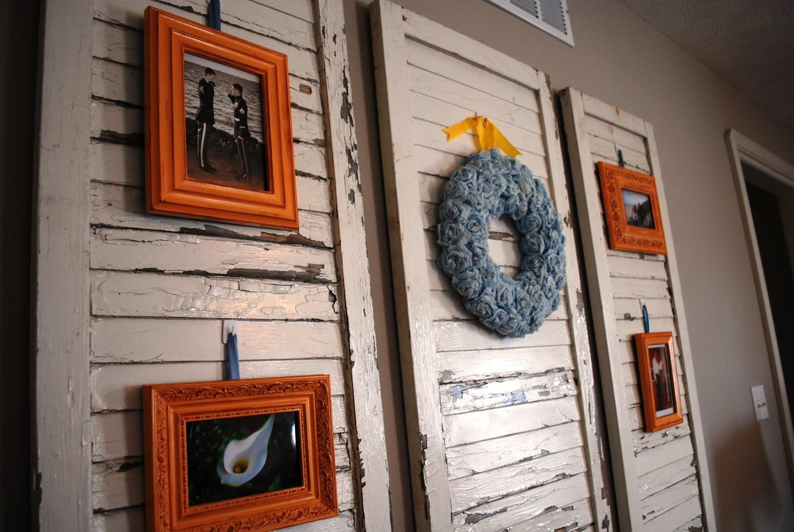 Design Progress New Uses Old Shutters