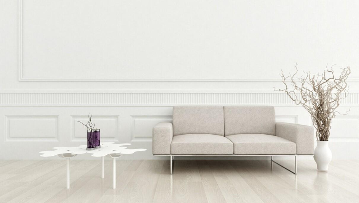 Design Walls Living Room White Wall