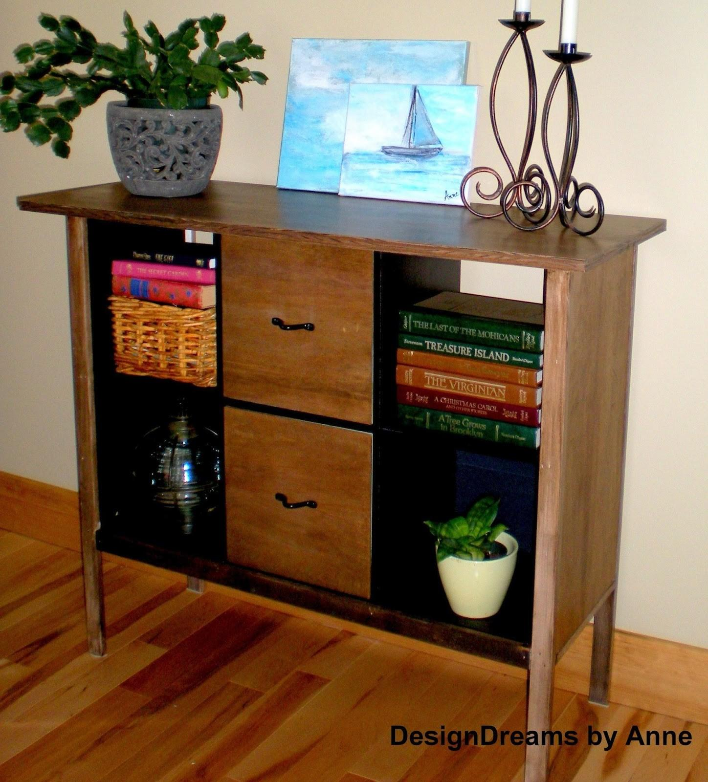 Designdreams Anne Upcycle Cube Classy Console