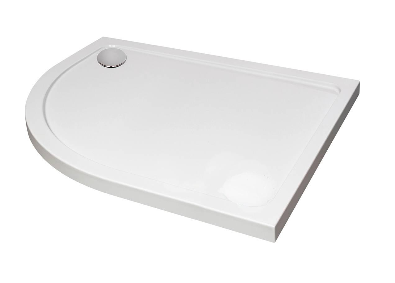 Designer Offset Quadrant Shower Tray Showering