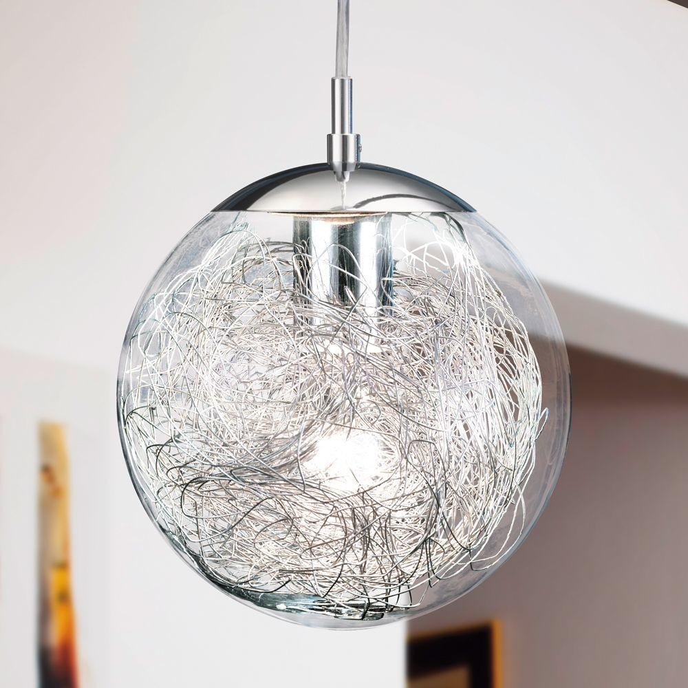 Designer Pendant Lighting Hanging Glass