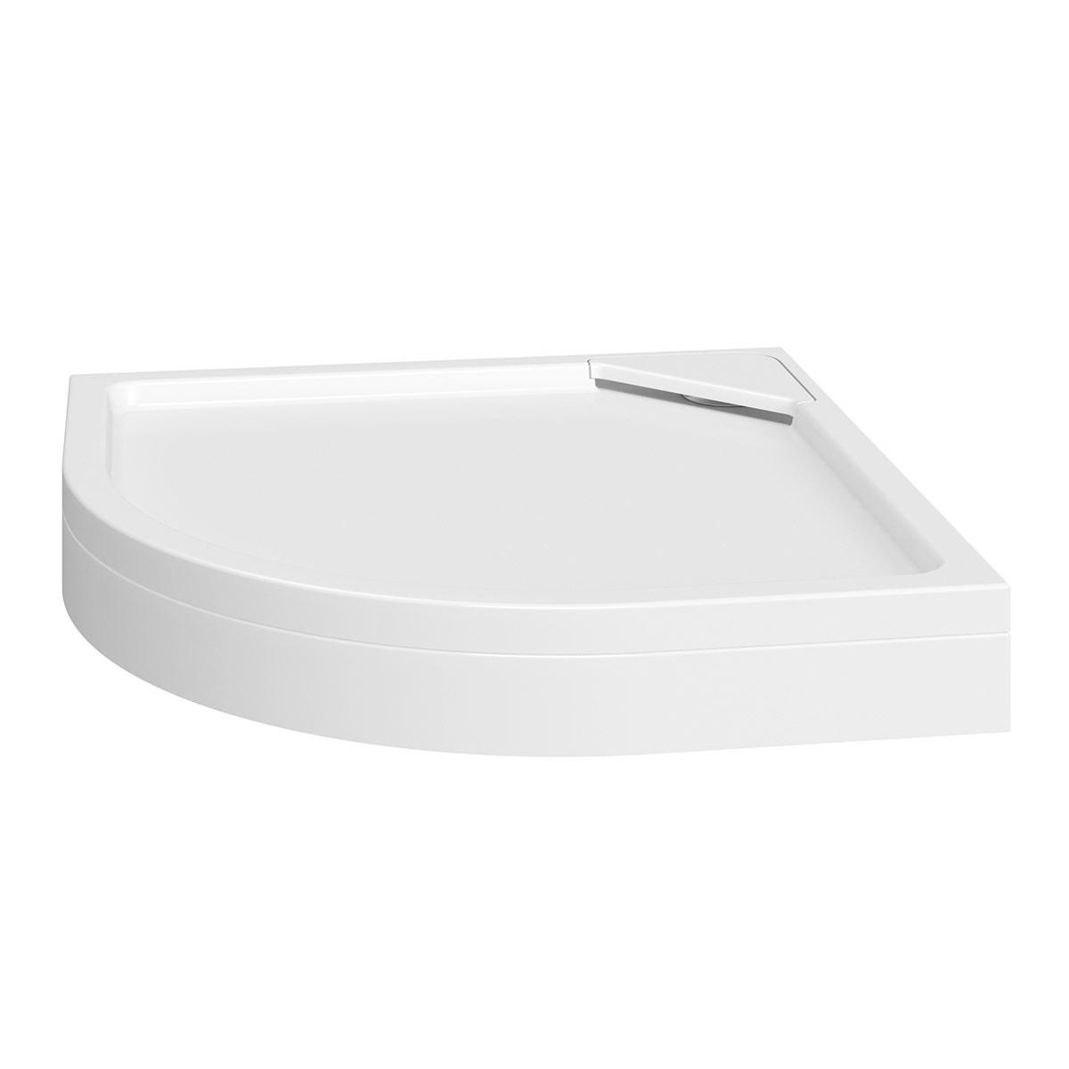 Designer Quadrant Stone Shower Tray Riser Kit 900