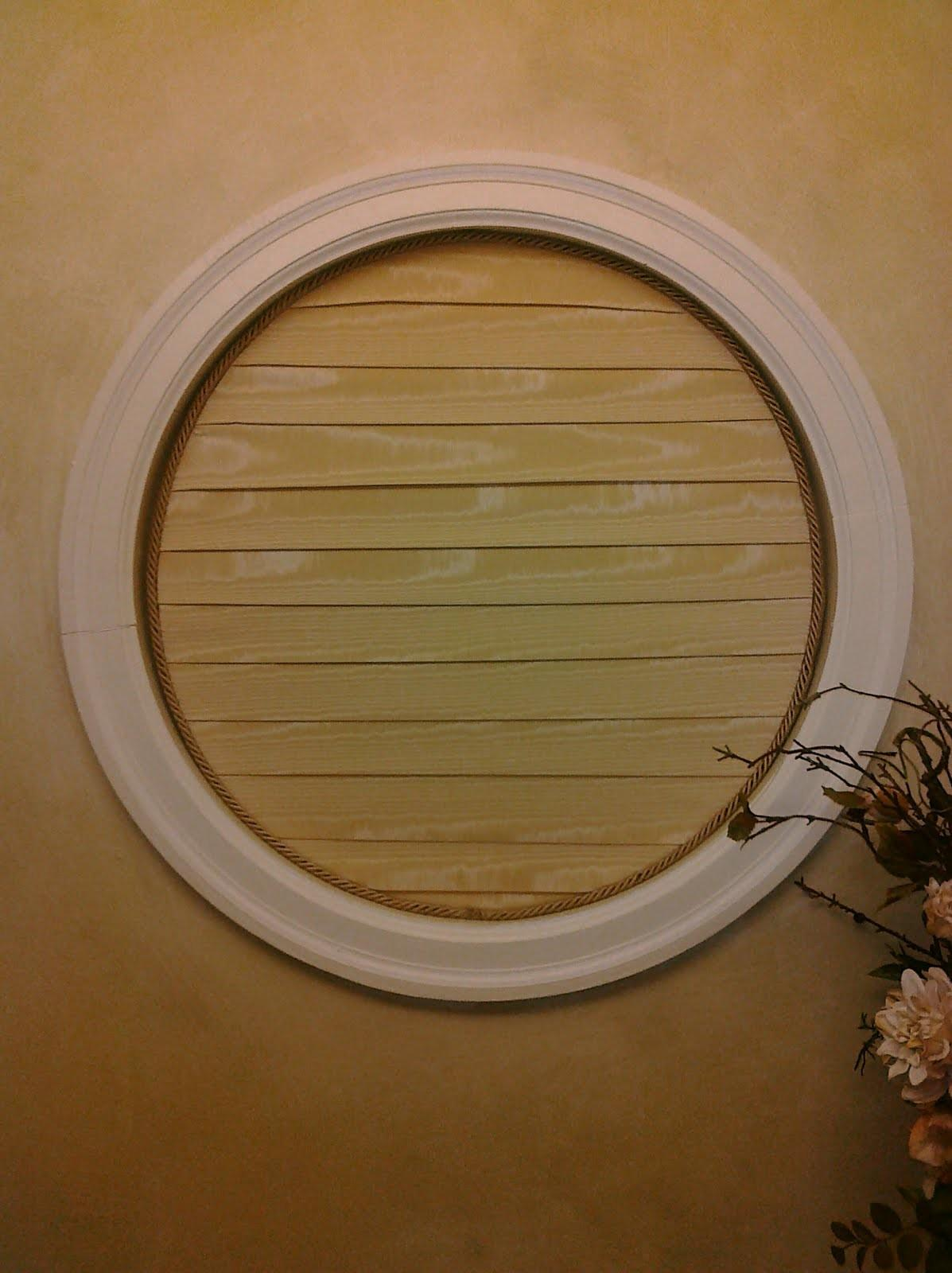 Designs Round Window Covering