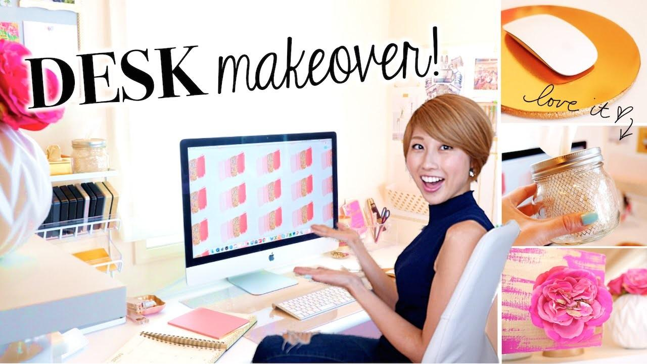 Desk Makeover Favorites Easy Diy