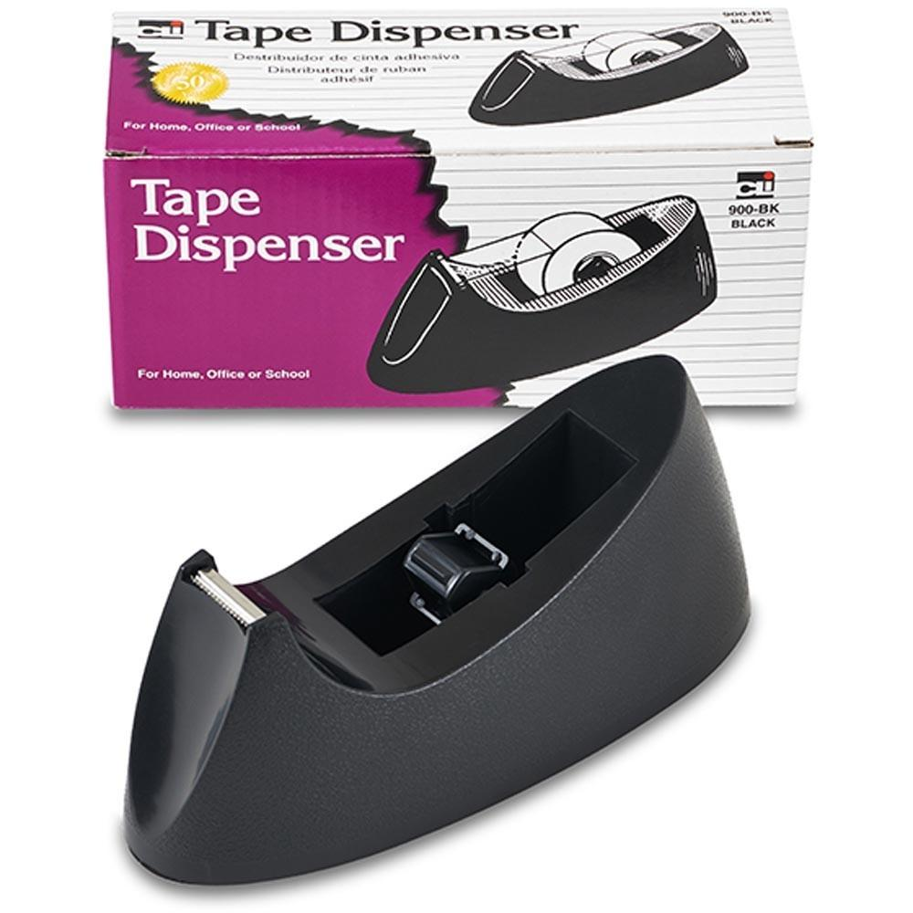 Desk Tape Dispenser Black Chl900bk Charles Leonard