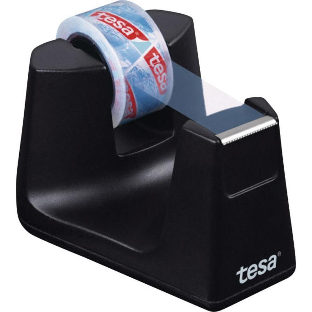 Desk Tape Dispenser Tesa Black Conrad
