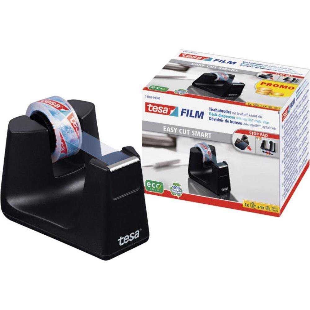 Desk Tape Dispenser Tesa Tesafilm Black Content