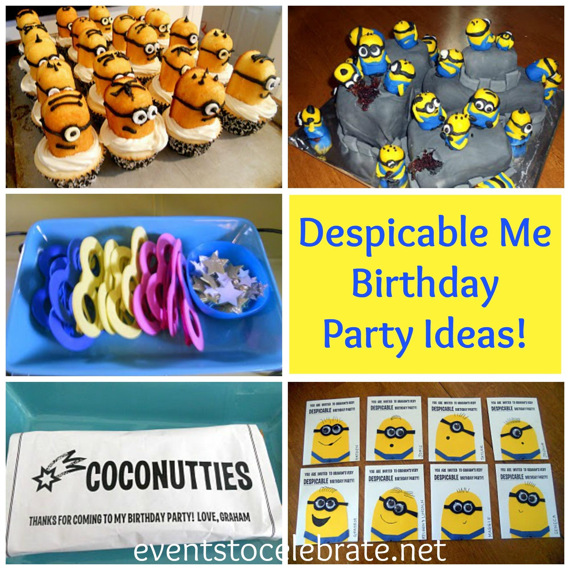 Despicable Birthday Party Events Celebrate