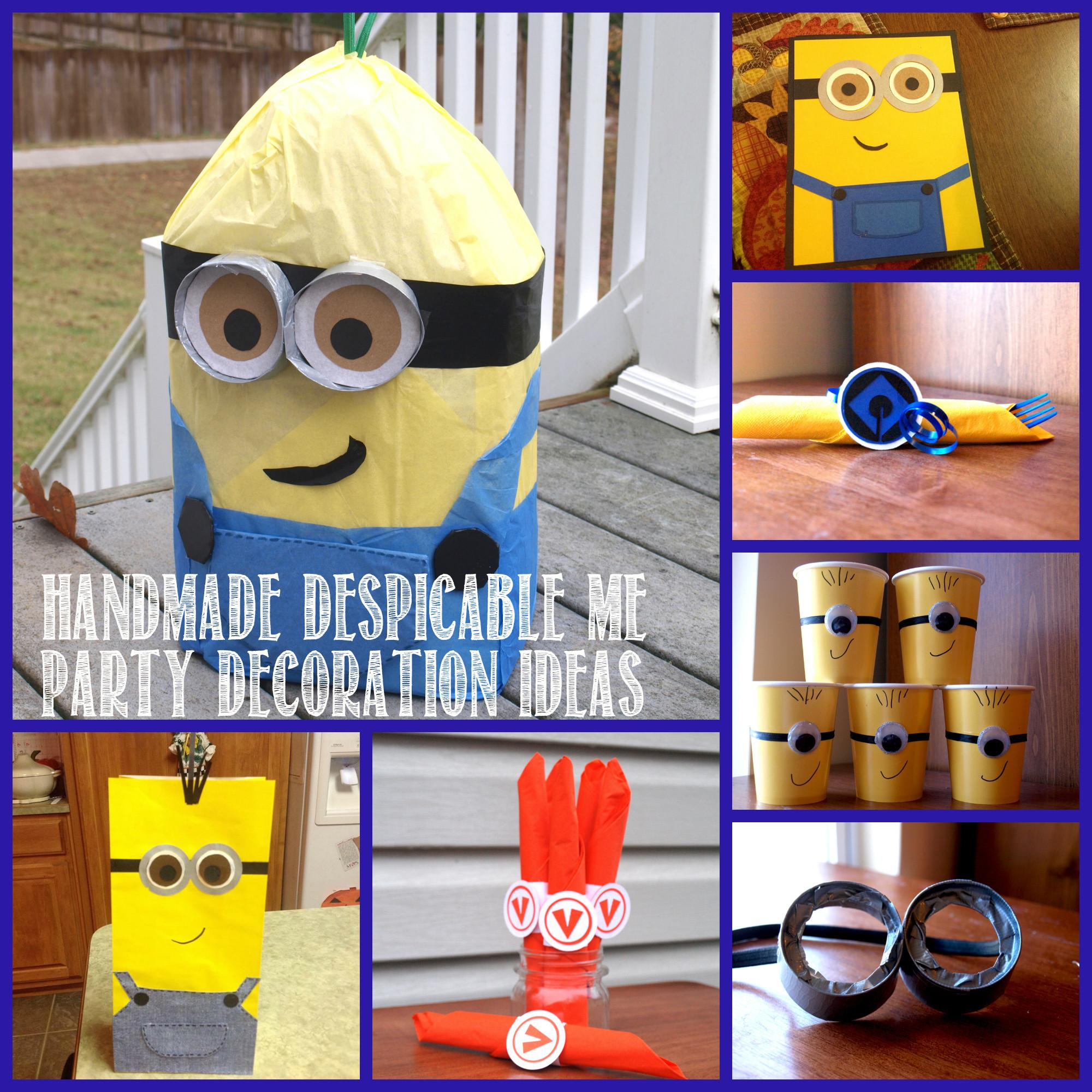 Despicable Birthday Party Rebecca Autry Creations