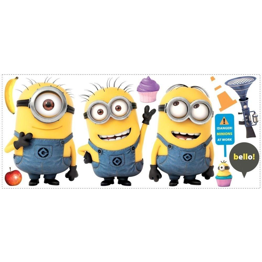 Despicable Giant Minions Wall Decals Room Decor