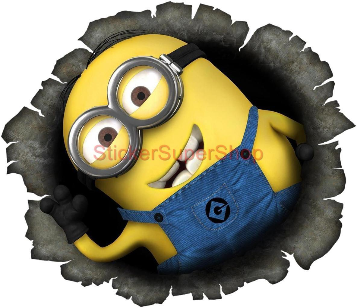 Despicable Minion Wall Movie Decal Removable