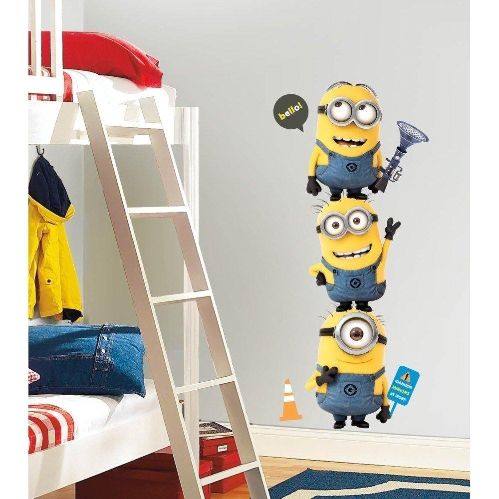Despicable Minions Wall Decals New Giant Kids Room