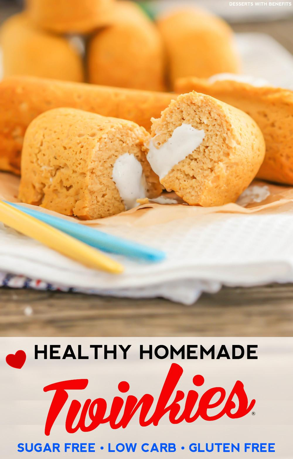 Desserts Benefits Healthy Homemade Twinkies Recipe