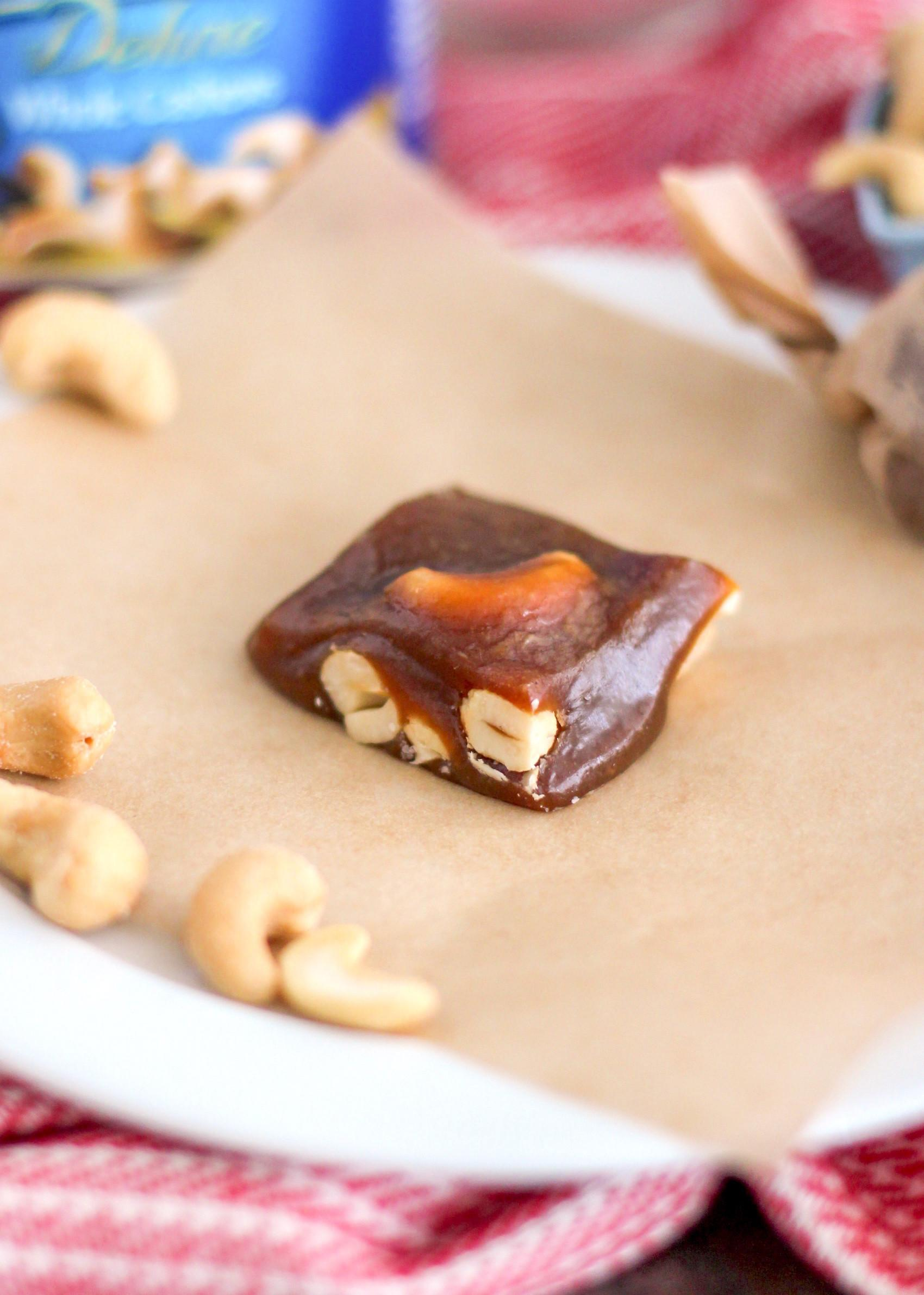 Desserts Benefits Homemade Decadent Cashew Caramels