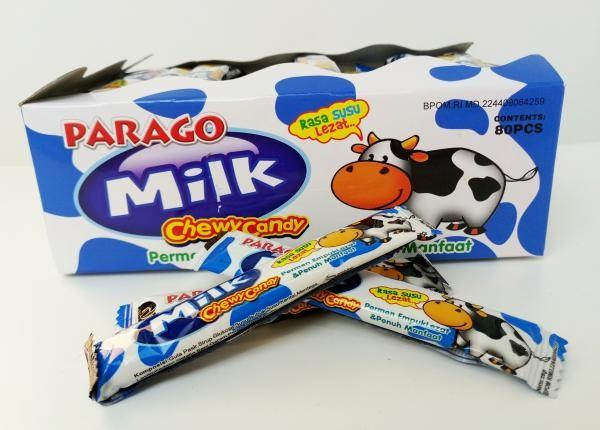 Details Eco Friendly Parago Chewy Milk Candy Healthy