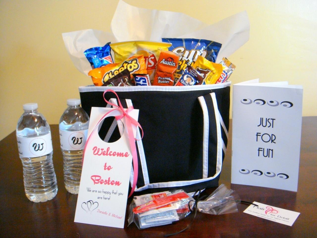 Detroit Michigan Wedding Planner Blog Hospitality Bags