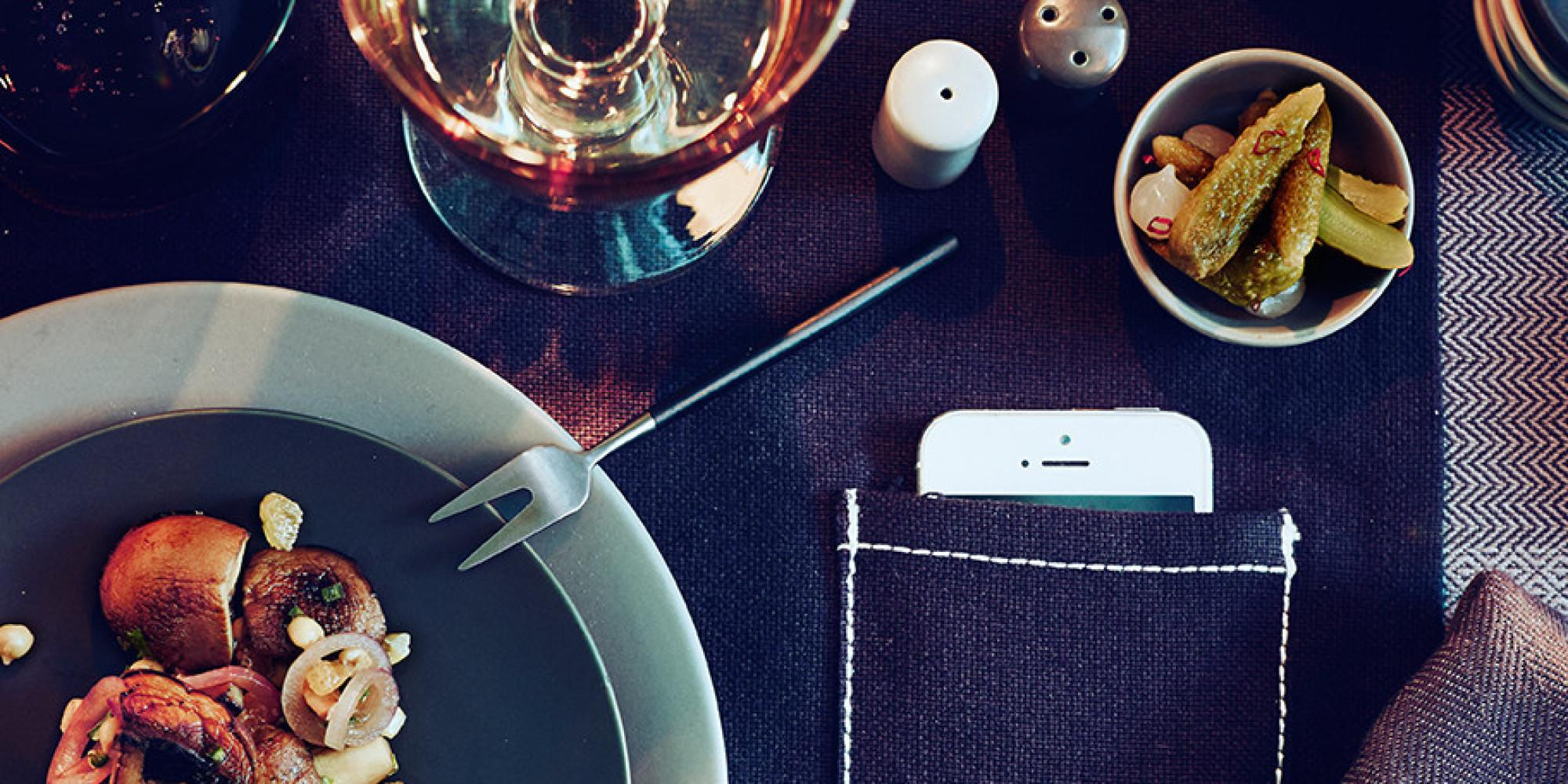 Develops Phone Pocket Placemat Those Refuse