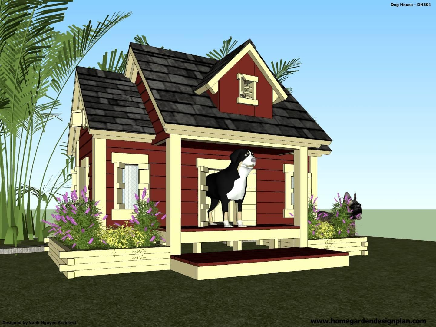 Dh301 Build Insulated Dog House
