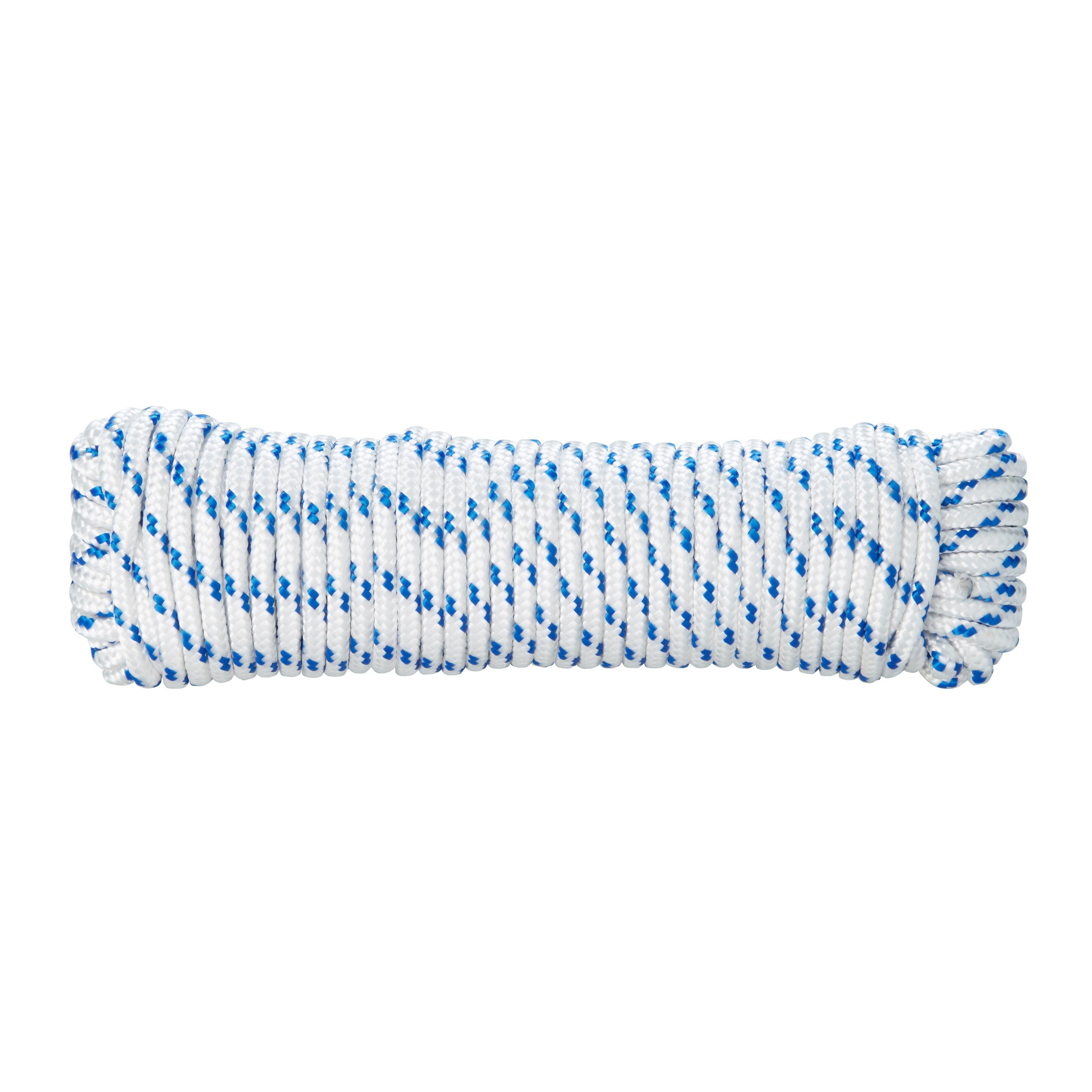 Diall Polypropylene Braided Rope 6mm 10m Departments