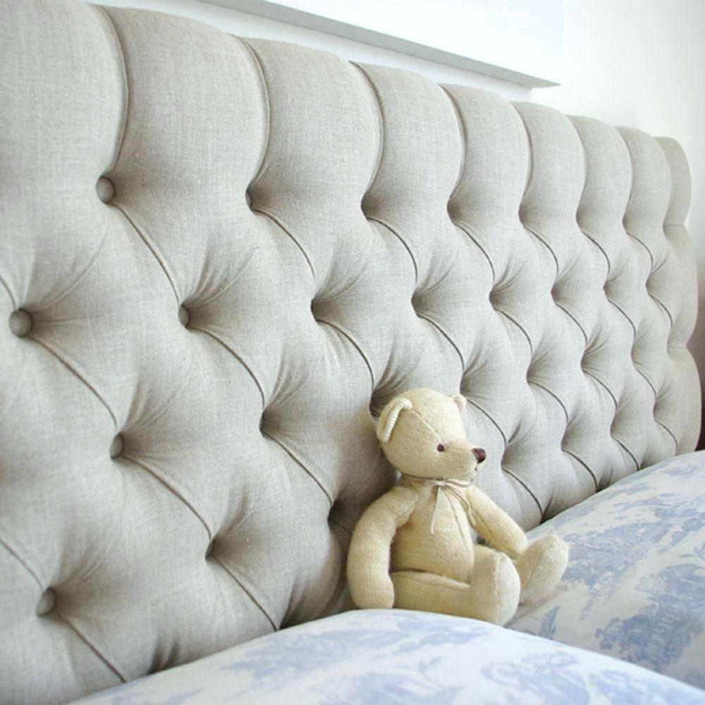 Diamond Tufted Headboard Audrey Wingback