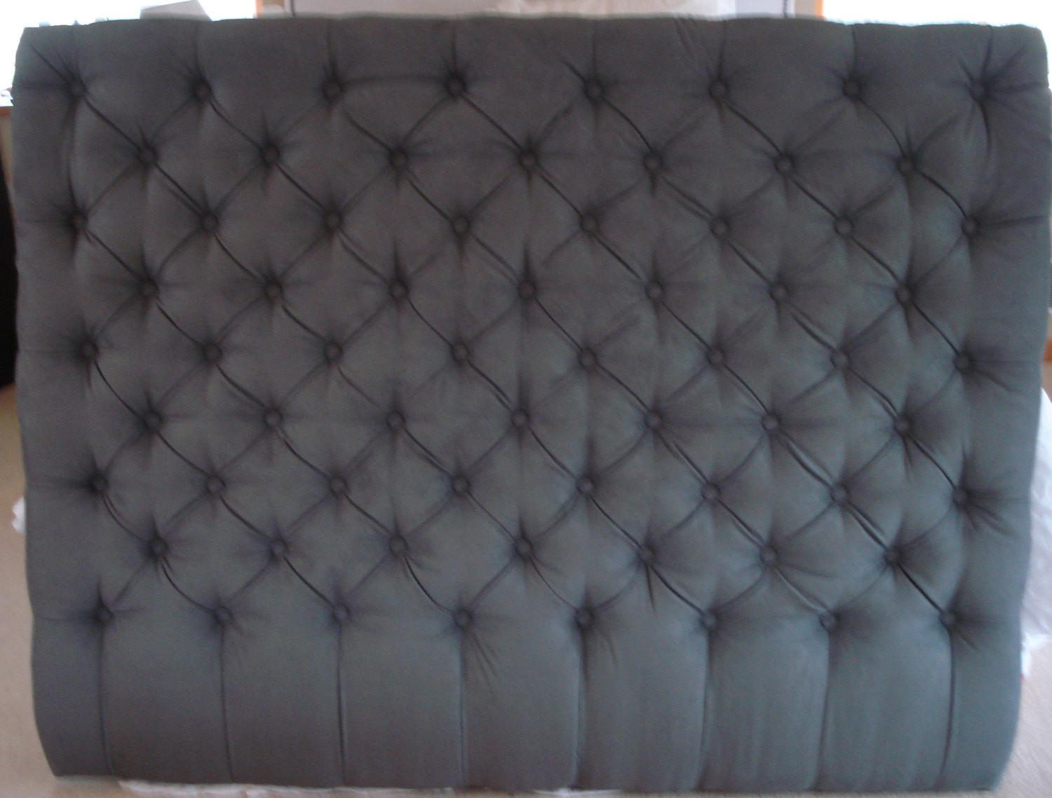 Diamond Tufted Headboard Queen