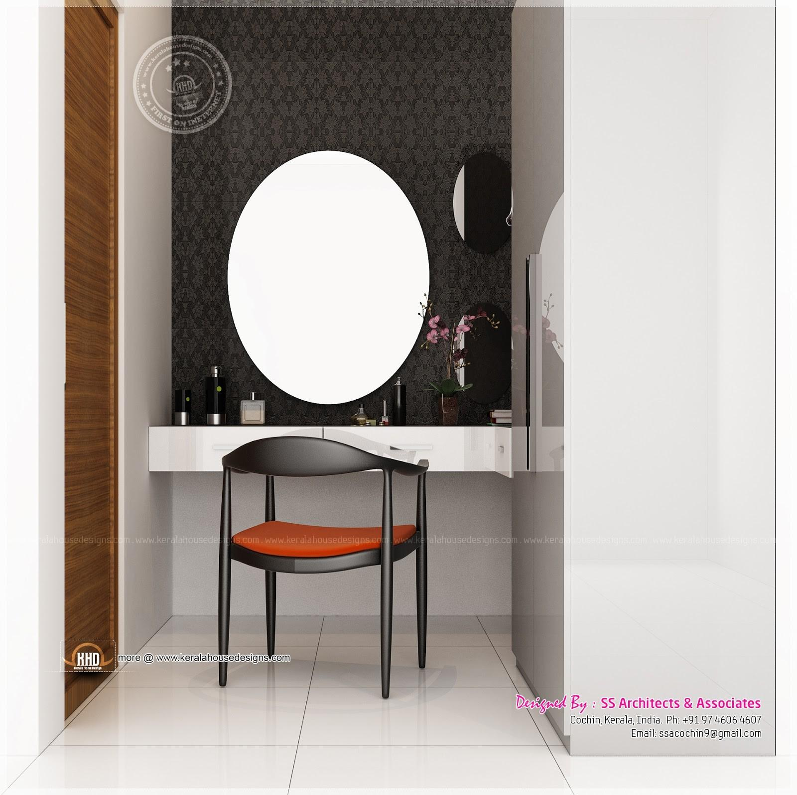 Different Dressing Table Designs Architects Cochin